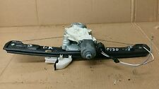2009 Ford Focus Rear Driver Window Regulator 135-00209L