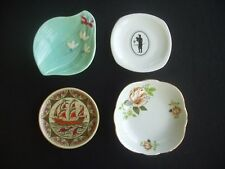 COLLECTION OF 4 PIN DISHES ~WESTERN GERMANY, BAVARIA, POLAND, GREECE ~COLOURFUL