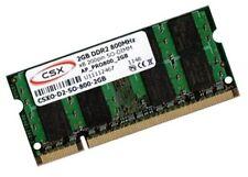 2GB RAM 800 Mhz DDR2 für Dell Latitude D531 D620 D620ATG Speicher SO-DIMM