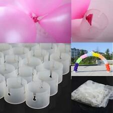 50Pcs Wedding Decorative Ring Arch Folder Connectors Balloon Connect Buckles