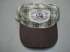 New Men's Vintage Foxworthy Red Neck Gear Plaid Worn Look Baseball Cap #99H