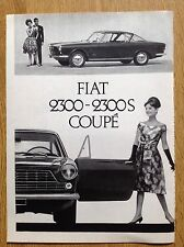 FIAT 2300-2300 S Coupe' 1961