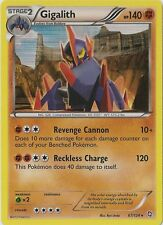 x1 Gigalith - 67/124 - Holo Rare - Reverse Holo Pokemon Dragons Exalted M/NM