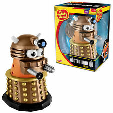 "*NEW IN BOX* PlaySkool Dr Doctor WHO Mr Potato Head GOLD DALEK 7"" inch"