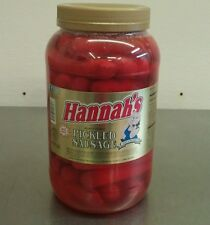 Hannah's Red Hot Pickled Sausage (1-Gallon) *PRIORITY SHIPPING*