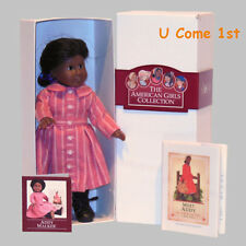 MINI ADDY DOLL~GLASS EYES! PLEASANT COMPANY! AMERICAN GIRL! BOX~BOOK~PAMPHLET