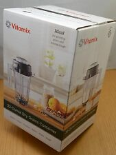 Vitamix 32-oz Dry Grains Container with Whole Grains Cookbook New in Sealed Box