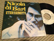 "NICOLA DI BARI SPANISH 7"" SINGLE SPAIN WHITE LABEL ETERNAMENTE"