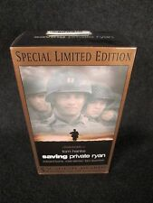 Saving Private Ryan (VHS, 2000, 2-Tape Set, Special Limited Edition) SEALED, NEW