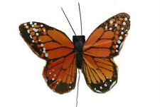 Artificial Monarch Butterfly,Fake Craft,Butterflies,Wedding Butterfly, BF1220X2