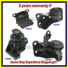 1993-1997 FORD PROBE 2.5L MOTOR & TRANS MOUNT 4PCS w/ MT - 1 day fast shipping!!
