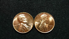 1968-D & 1969-D LINCOLN MEMORIAL PENNY IN BU CONDITION (SEE PICTURES)