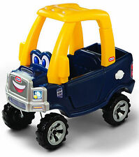 Little Tikes COZY TRUCK, Steering Wheel Horn Durable Toddler RIDE ON TOY TRUCK