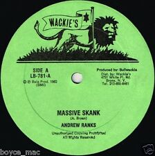 "wackies 12"" : ANDREW RANKS-massive skank    (hear)    killer roots"