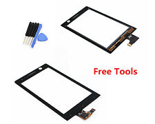 Touch Screen Digitizer Lens For Sony Xperia U ST25i ST25 ST25A Kumquat Black Ts