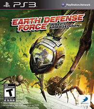 NEW*SEALED PS3 Game EARTH DEFENSE FORCE: INSECT ARMAGEDDON (Sony PlayStation 3)