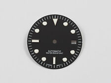 Dial for ETA 2836 ETA 2824 movement Submariner Diver style 29,5 mm