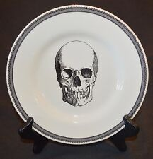 "Royal Stafford Skull 8.5"" Side / Salad Plate Gothic Halloween NEW England"