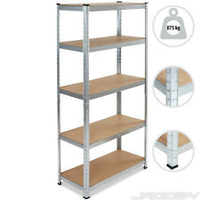 Metal Shelving Heavy Duty 5 Tier Steel Shelf Shed Workshop Storage Unit Racking