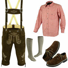 Trachten oktoberfest authentic german lederhosen bundhosen full dress