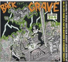VA  Back from the Grave Volumes 3 & 4, CD Neu