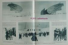 BALLON DIRIGEABLE NORGE EXPEDITION AERIENNE POLE NORD COMMANDANT BYRD DE 1926 AD