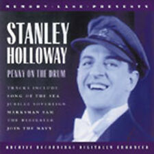 CD STANLEY HOLLOWAY PENNY ON THE DRUM LION ON THE DRUM PICK UP THA' MUSKET