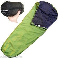 Schlafsack Camping + Trekking, 800g, Mikrofaser,Packmaß klein 15x30 cm, TOP !