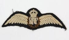 Brevet de pilote Royal Air Force ww2  (matériel original)