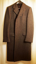 Vintage (?) Pristine J Press Thick Wool Overcoat.  36-38R. Charcoal. Rare.