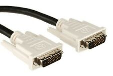 New C2G 2M DVI-D Male to DVI-D Male Video Cable Gold-plated Contacts 81189
