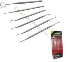 Stainless Steel Dental Set Tools Dentist Teeth Inspection Hygiene Picks Mirror
