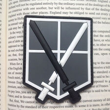 Attack On Titan-Shingeki No Kyojin Training Corps US Morale 3D PVC Patch