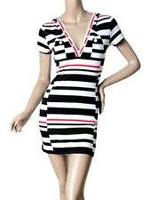 NWT Ever Pretty Super Cute Striped Casual Hooded Mini Dress Size 10