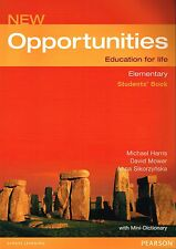 Longman NEW OPPORTUNITIES Elementary STUDENTS' BOOK with Mini-Dictionary @NEW@