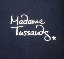 MADAME TUSSAUDS wax museum small T shirt London waxworks tee UK logo