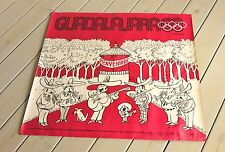 1968 Mexico Summer Olympics Original Periodico Mural by Abel Quezada Poster