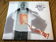 """HOWARD JONES - YOU KNOW I LOVE YOU DON'T YOU  7"""" DOUBLE VINYL GATEFOLD PS"""