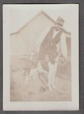 VINTAGE PHOTOGRAPH WORKING HUNTING DOGS GERMAN SHORTHAIRED POINTER OLD PHOTO