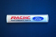 New Silver 1Pcs Racing Auto Car Emblem Badge Sticker Fit for Ford Focus Mondeo
