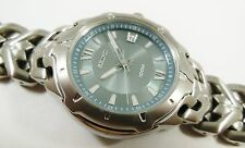 Seiko Silver Tone Stainless Steel 7N42-0BB8 Sample Watch NON-WORKING