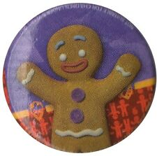 Official Shrek Gingerbread 1 inch button badge