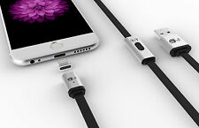 MagCable Magnetic iPhone iPad 5 5s 5c 6 6s Plus Lightning Cable Charger USB