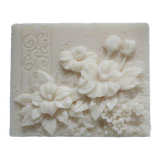 Soap Molds Silicone Soap Making Molds Craft Molds Resin Mold Rectangle Flower