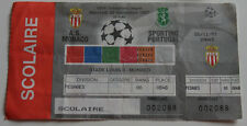OLD TICKET CL AS Monaco France - Sporting Lisboa Portugal
