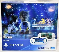 New PlayStation Vita FINAL FANTASY X/X-2 HD Remaster RESOLUTION BOX In Stock EMS