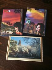Singapore Airlines and Suzhou Gardens Playing cards sealed