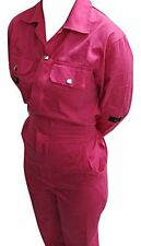 Children's Coverall Pink Boiler Suit Age 12 Size 34""