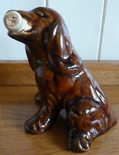 Miniature ceramic FRENCH bottle SPANIEL by SYLVAC