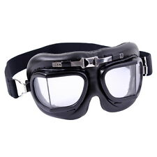 Old Fashioned Retro Motorcycle Riding Bomber Antique Goggles Glasses Eyeglasses